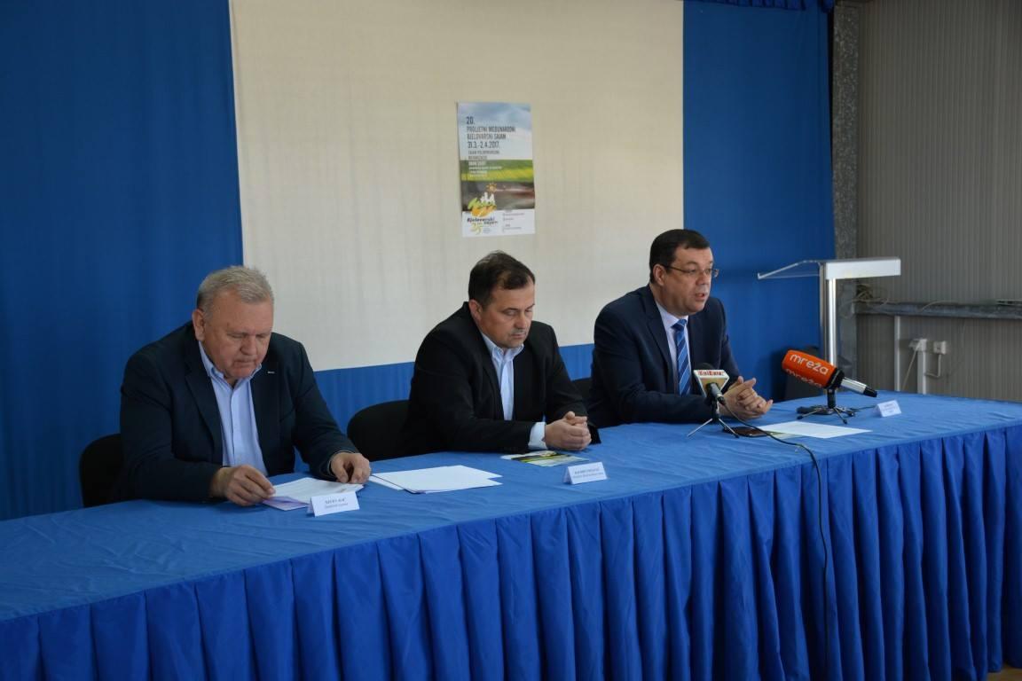 Župan Bajs i direktor Bjelovarskog sajma Davorin Posavac predstavili rezultate s Proljetnog sajma