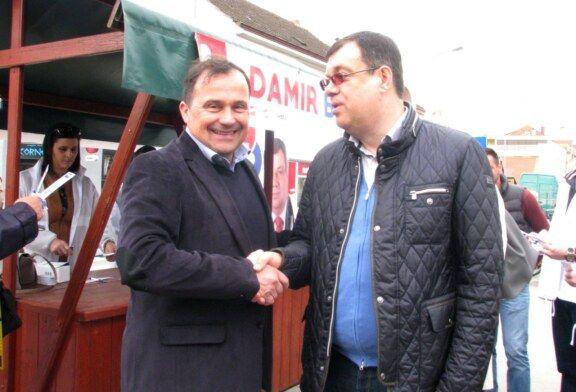 Bjelovar – SDP-ov nezavisni kandidat za gradonačelnika Davorin Posavac družio se s građanima