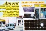 Amont – elektro trgovački obrt, trgovina, servis i montaža antenskih i elektro solarnih sustava