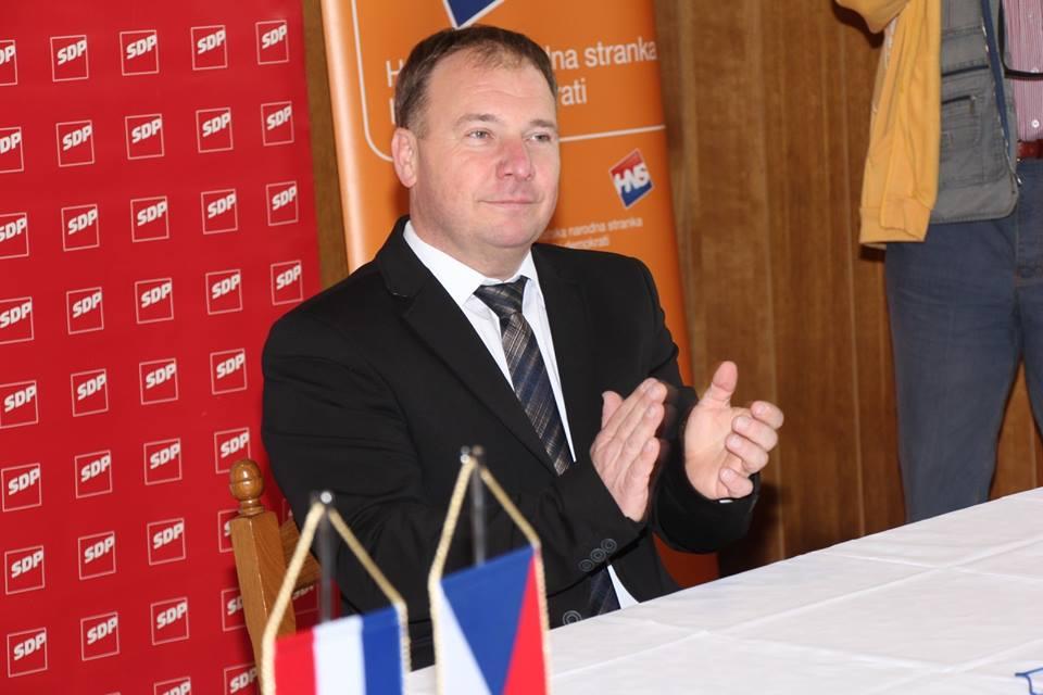 Damir Malina predstavio kandidaturu za zamjenika župana Češke nacionalne manjine
