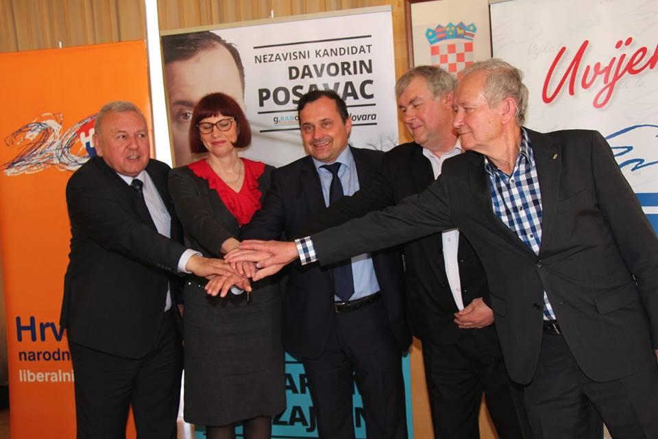 Davorina Posavca za gradonačelnika grada Bjelovara podržao HNS Bjelovar i HSU Bjelovar