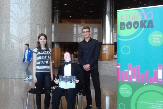 Medicinska škola Bjelovar sudjelovala na manifestaciji Knjižna booka
