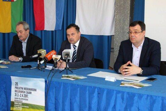 Najava Proljetnog međunarodnog bjelovarskog sajma