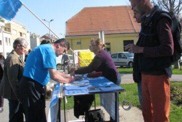 Potpisivanje peticije protiv Ovršnog zakona privuklo Bjelovarčane