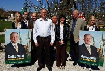 Zlatko Salaj predstavio kandidaturu za gradonačelnika Čazme