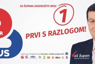 DAMIR BAJS – Brza prometnica prema Bjelovaru je prioritet za dolazak domaćih i investicijskih partnera