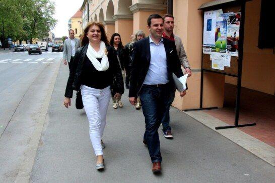 Tolušić i Hrebak družili se na bjelovarskoj kavi