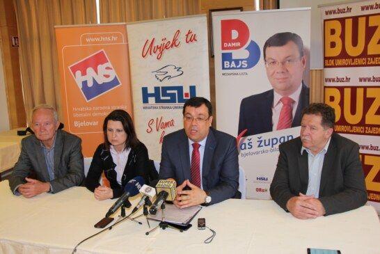 DAMIR BAJS kandidat za župana Bjelovarsko-bilogorske županije predstavio glavne točke izbornog programa