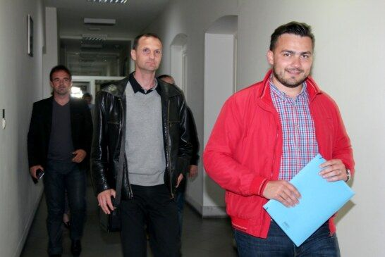 HDZ-ov kandidat za gradonačelnika Bjelovara Ante Topalović predao kandidacijsku listu za članove Gradskog vijeća