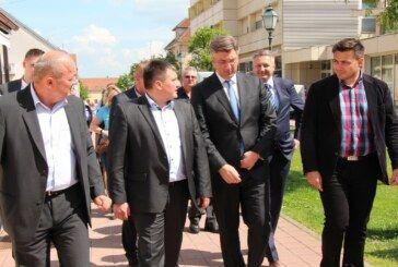 Premijer Andrej Plenković posjetio Bjelovar kako bi dao podršku HDZ-ovim kandidatima za gradonačelnika i župana