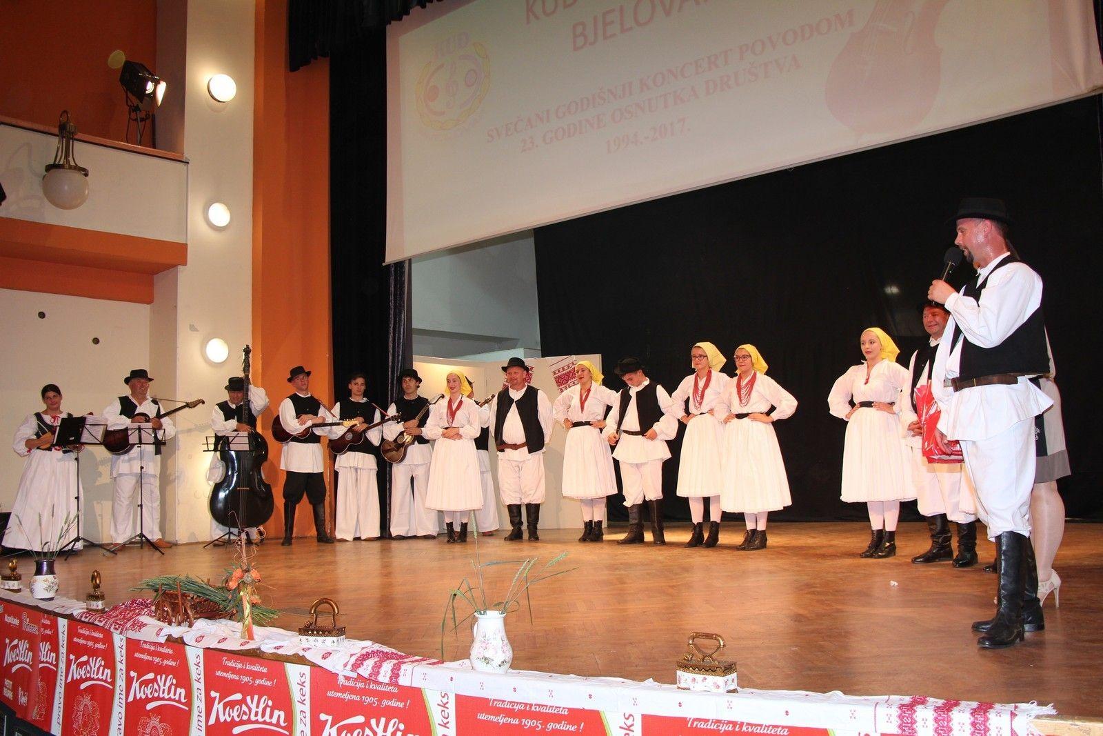 KUD Bjelovar s pjesmom i plesom obilježio 23. rođendan