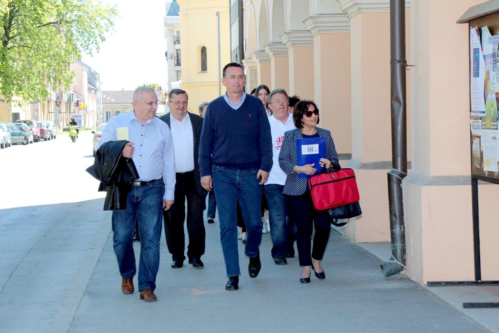 Kandidaturu za gradsku vlast predao i Stipe Šola, kandidat za gradonačelnika grada Bjelovara