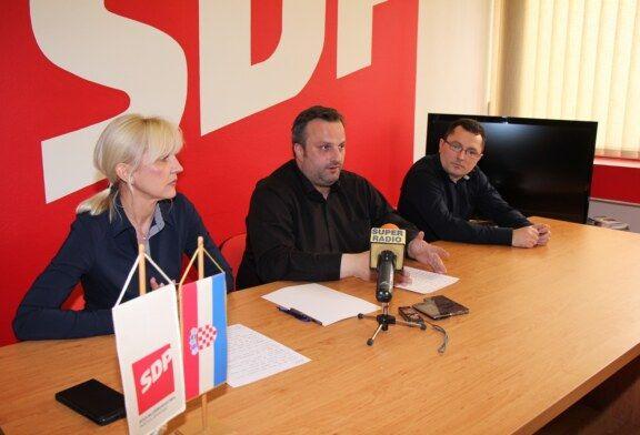 SDP O HDZ-OVIM IZJAVAMA ZA KAPITALNE PROJEKTE
