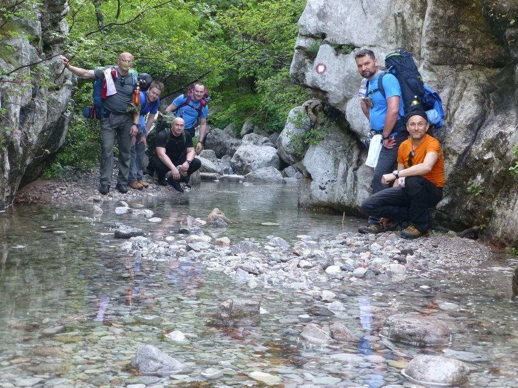 U kanjonu Male Paklenice još ima dosta vode