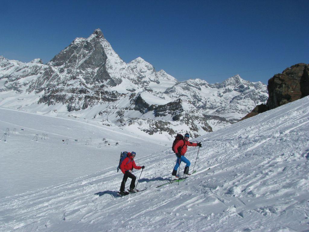 Uspon na Turnim skijama
