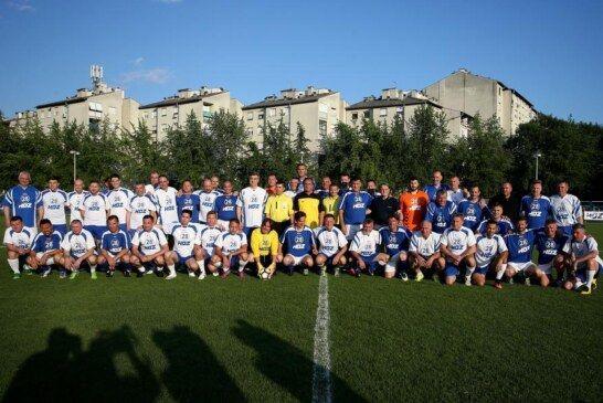 HDZ-e proslavio 28. obljetnicu osnutka nogometnom utakmicom na zagrebačkom stadionu NK Jarun