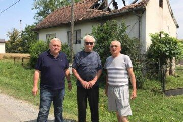 Bjelovarsko-bilogorska županija pomaže Milanu Đurđeviću kojemu je u požaru izgorijela obiteljska kuća
