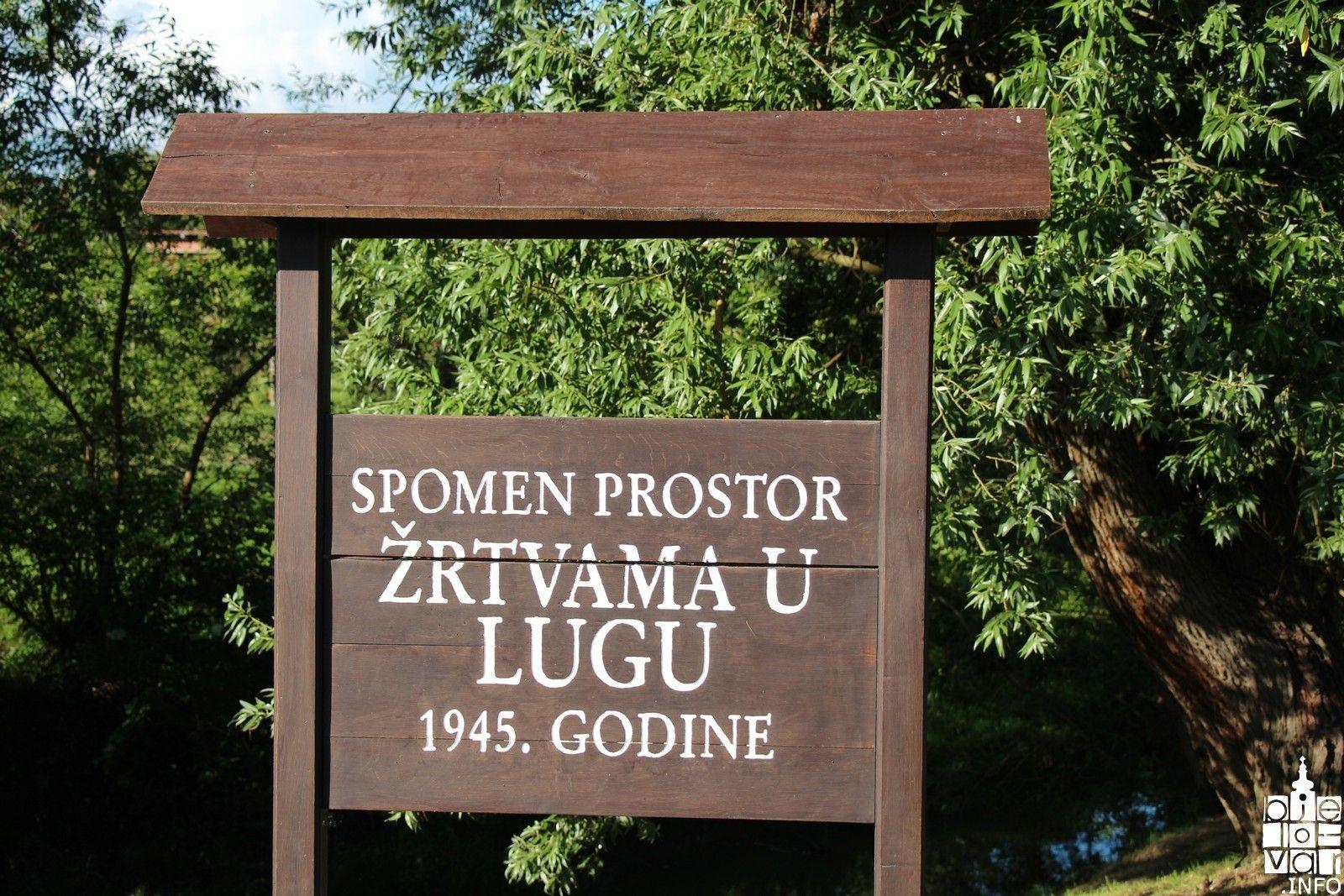 Spomen na Hrvatske žrtve poraća u šumi Lug 2017.