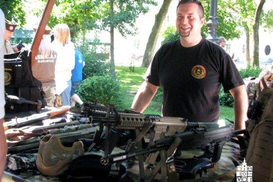 """U Bjelovaru održan Airsoft sajam koji je pokazao da """"vojne igre"""" privlače sve više poklonika"""