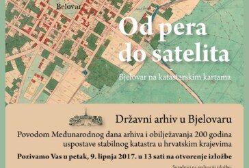 Gradski muzej Bjelovar – Izložba od pera do satelita