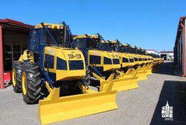 35 novih traktora tvrtke Hittner d.o.o. proizvedeno za Hrvatske šume