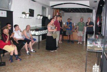Štićenici Doma za odrasle osobe Bjelovar posjetili Društvo za očuvanje hrvatske vojne tradicije