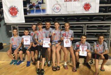 Briljantni nastup Taekwondo kluba Fox na prvenstvu Hrvatske u Zadru