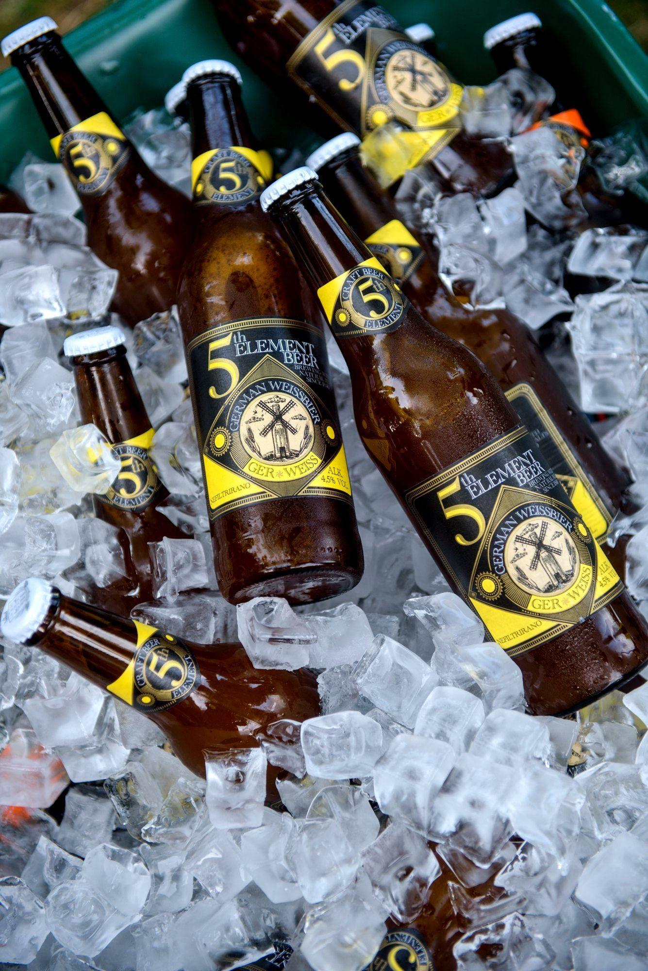 01_Gerweiss, novo ljetno pivo 5th Element u ledu