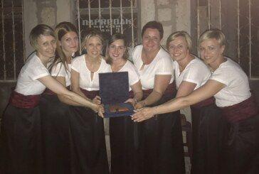 Daruvarska ženska klapa Stentoria osvojila zlato na Međunarodnom festivalu klapa u Crnoj Gori