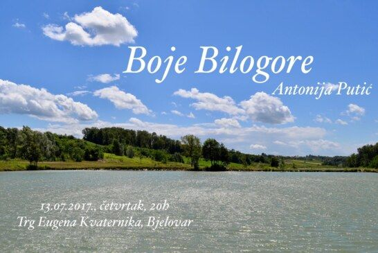 Boje Bilogore – putopisno predavanje