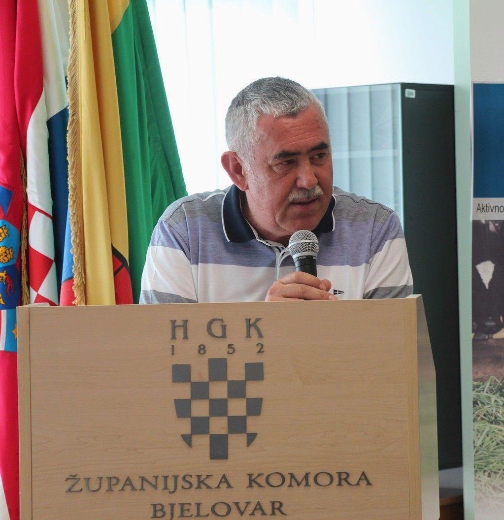 Jakov Ćorić, predsjednik Županijske komore Bjelovar: Tijekom 2015. godine imali smo rast za 49 posto u investicijama što je u brojkama 210 milijuna kuna, a sada su negdje na 165 milijuna, što pokazuje pad