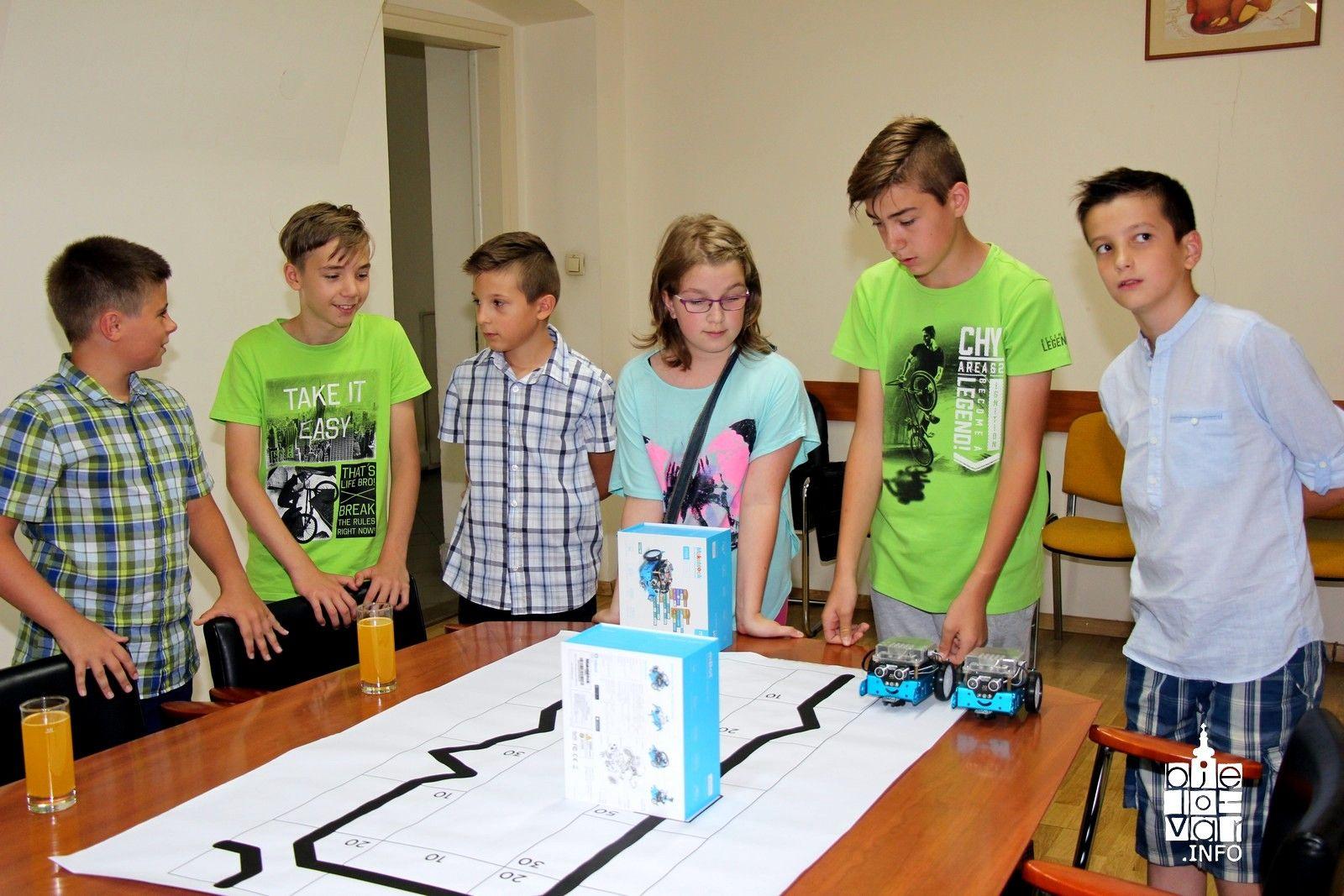Mladi bjelovarski robotičari osvojili prvo mjesto u regiji i time ušli među 30 najboljih u Hrvatskoj