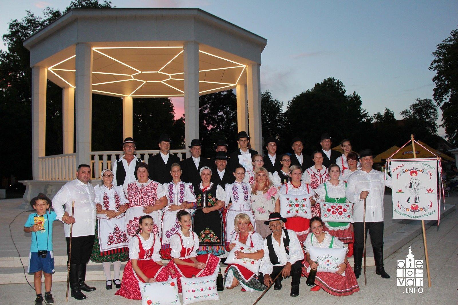 """Zajednica Mađara grada Bjelovara održala manifestaciju """"Zajedno u zajednici"""""""