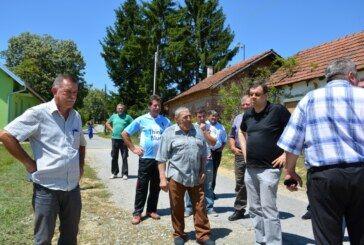 Župan Damir Bajs obišao radove na području Općine Berek