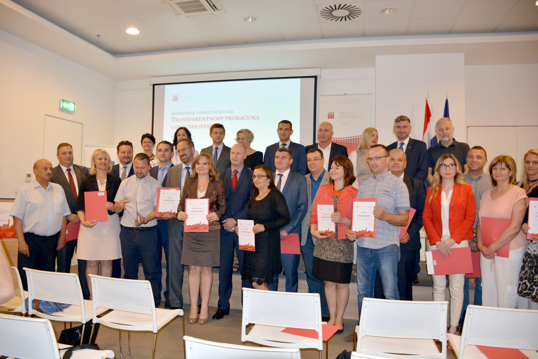 Bjelovarsko-bilogorska županija drugu godinu zaredom na vrhu transparentnosti u Hrvatskoj