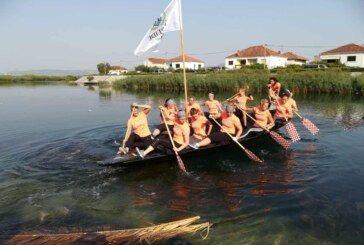 """Bjelovarske veslačice """"Nereide"""" srebrene na četvrtom """"Maratonu lađarica"""" na Neretvi"""