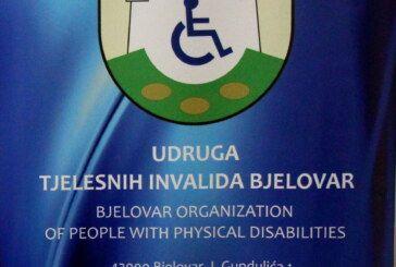 Udruga tjelesnih invalida Bjelovar krenula s provedbom trogodišnjeg programa koji obuhvaća djecu, mlade, odrasle nezaposlene osobe i starije osobe s invaliditetom