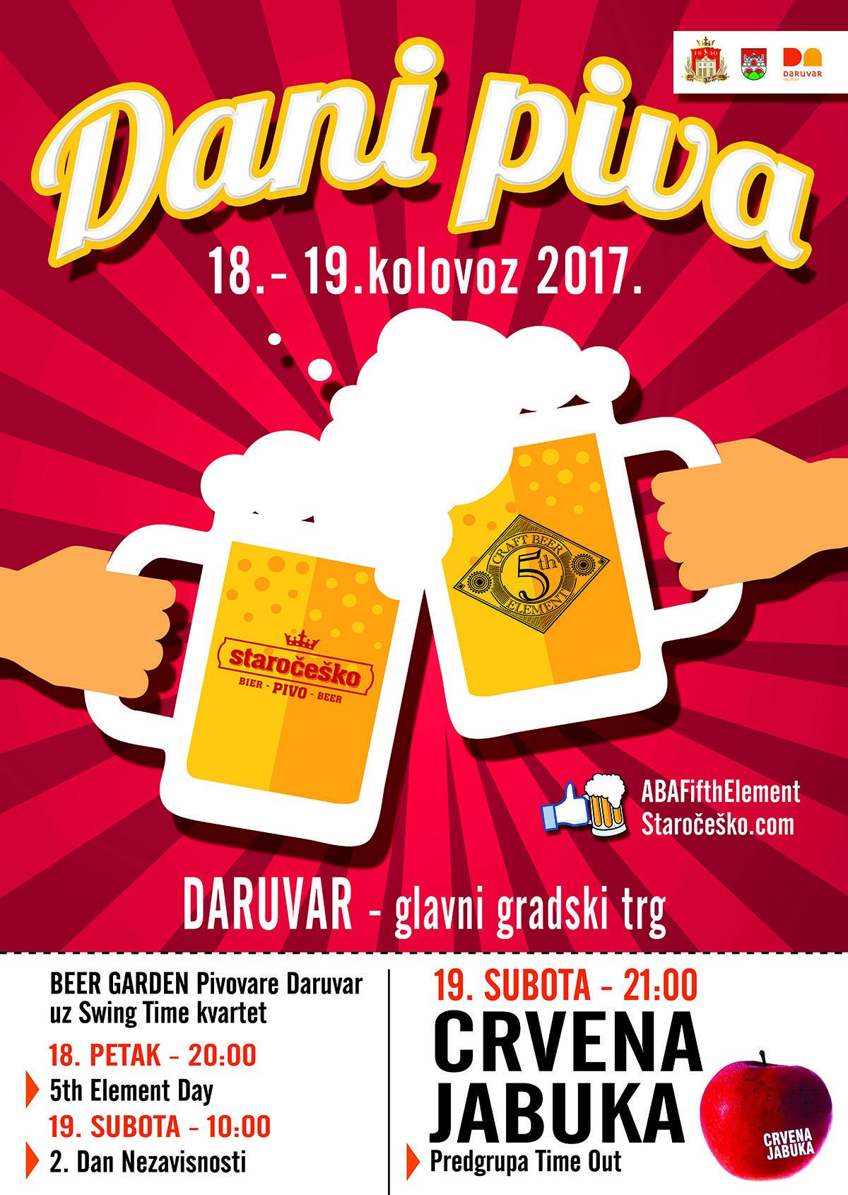 DARUVAR - Dani piva i brojne druge manifestacije