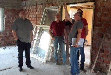 Čazma – Gradonačelnik obišao radove na uređenju Doma umirovljenika
