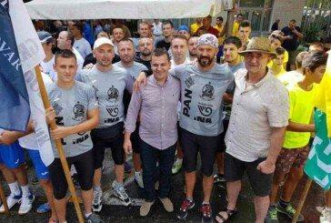 Bjelovarski Argonauti drugi na 20. Maratonu lađa na Neretvi