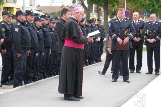 Obilježen Dan policije i Dan policijske kapelanije Sv. Mateja apostola u PU bjelovarsko-bilogorskoj
