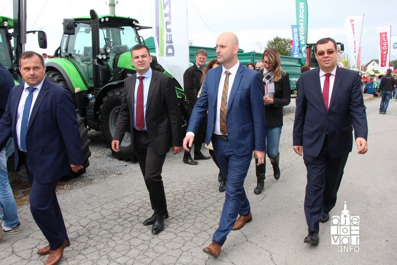 Ministar poljoprivrede Tomislav Tolušić otvorio 25. Jesenski međunarodni bjelovarski sajma u Gudovcu