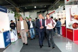 Predsjednik HSS-a Krešo Beljak posjetio Jesenski međunarodni sajam u Gudovcu