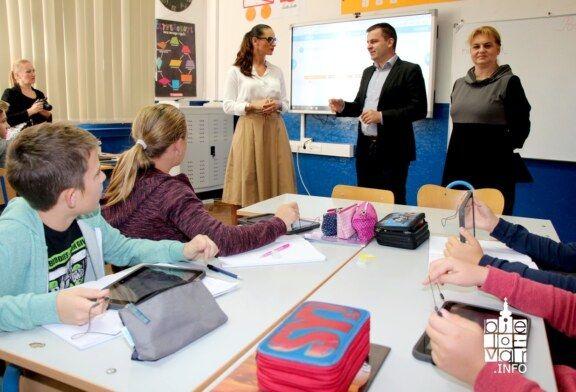 II. osnovna škola postala je e-Škola, a zahvaljujući Gradu Bjelovaru uvela je i e-Dnevnike