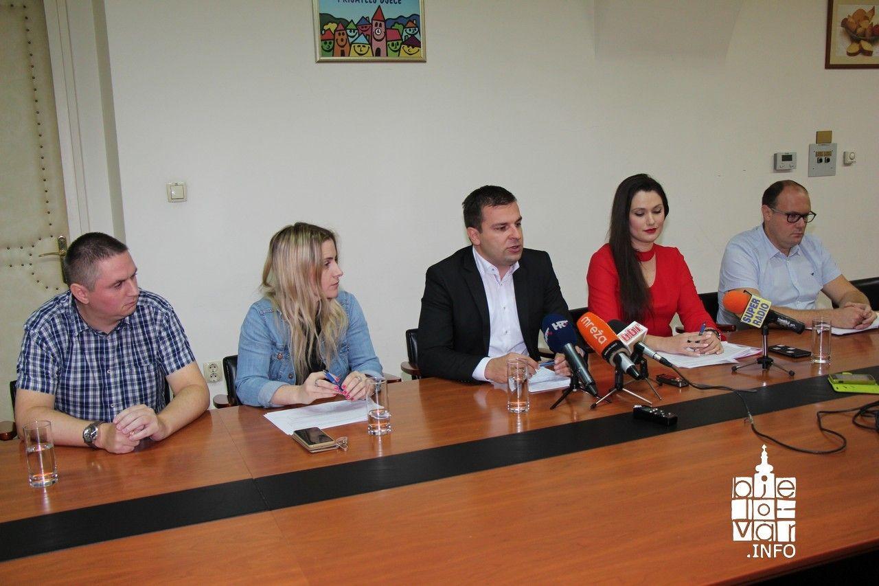 Gradonačelnik Dario Hrebak: Grad Bjelovar je prijavio 83 milijuna kuna vrijednih projekata, a cilj je prijaviti preko 100 milijuna kuna do kraja godine