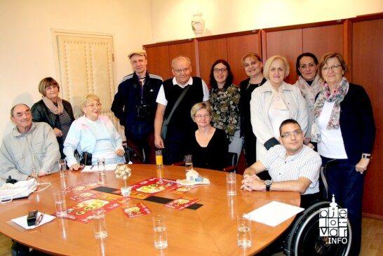 Grad Bjelovar je bio domaćin Društvu osoba s tjelesnim invaliditetom Podružnica Grada Pule