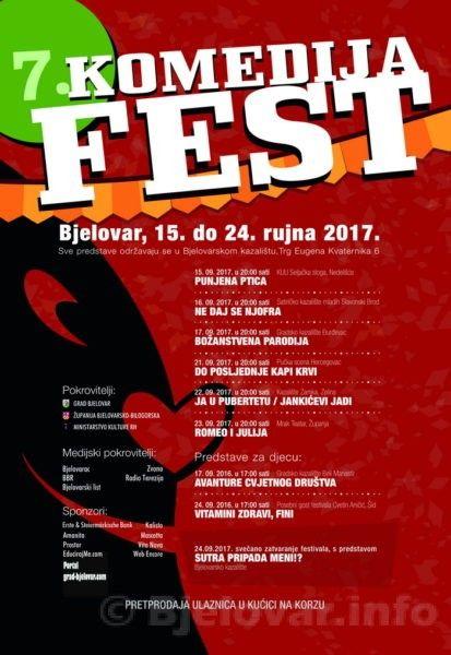 Komedija fest 2017 plakat 1