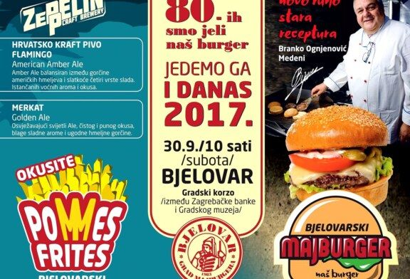 Dođite na Bjelovarski majburger!