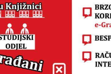 """Sustav  e-Građani dostupan u Narodnoj knjižnici """"Petar Preradović"""" Bjelovar"""