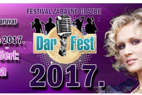 DARFEST 2017. – 12. Festival zabavne glazbe, novih zvijezda i hitova u Daruvaru